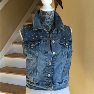 Levi Strauss & Co. Studded Denim Vest